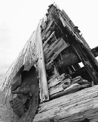 Wreck, near Tlell